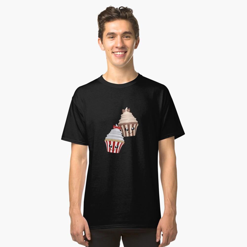 Cupcakes im Kawaii Stil Classic T-Shirt