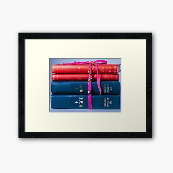 The Scalers of Justice Framed Art Print