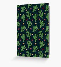 Cactus Fiesta Greeting Card