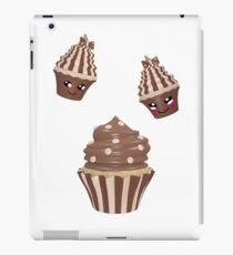 Schokoladen Cupcake iPad-Hülle & Klebefolie