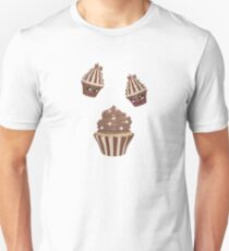 Schokoladen Cupcake Unisex T-Shirt