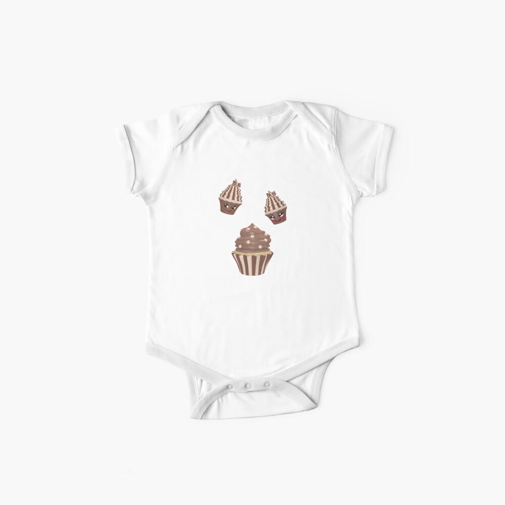 Schokoladen Cupcake Baby Body