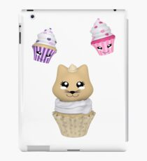 Cupcake mit Kätzchen iPad-Hülle & Klebefolie