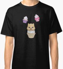 Cupcake mit Kätzchen Classic T-Shirt