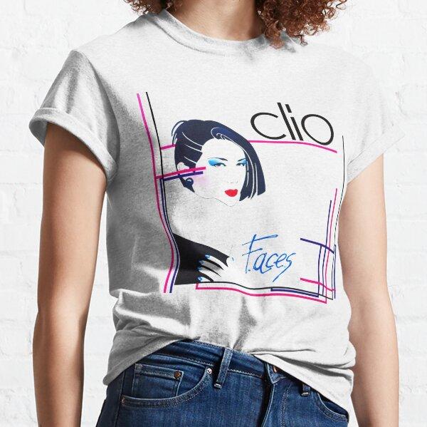 Clio -  faces 80s italo disco underground Classic T-Shirt