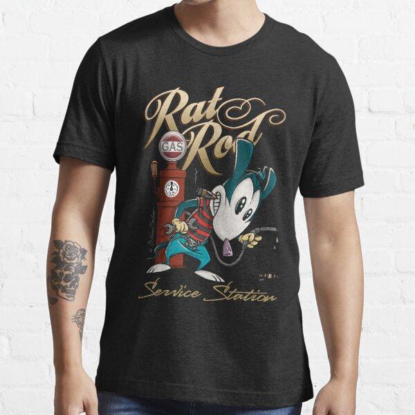 Rat Rod Gas I Essential T-Shirt