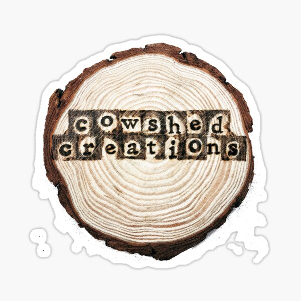 Cowshed Creations logo Sticker