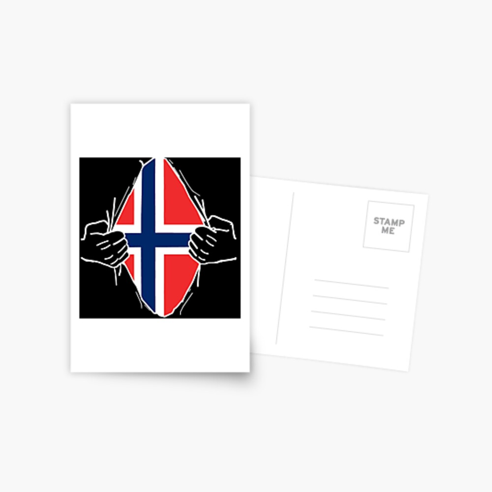 Norway Norway Gift Nationality Postcard