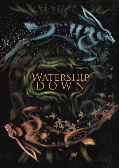 Quot Watership Down Alternative Book Cover Quot Posters By