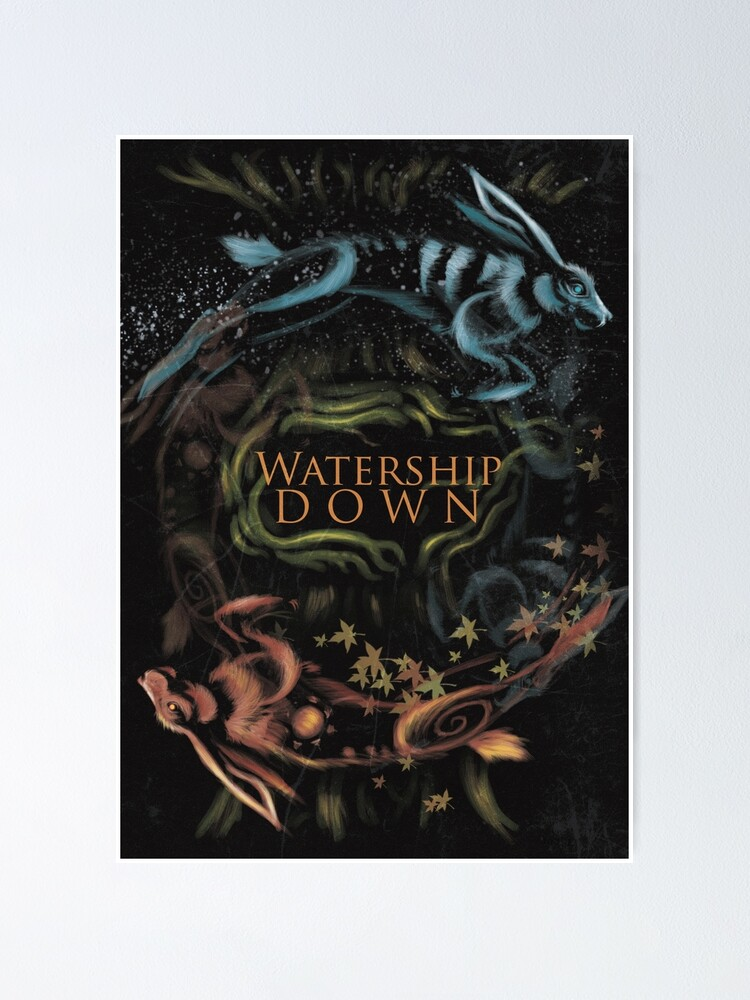 Alternate view of Watership Down alternative book cover Poster