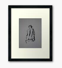 Crouch Framed Print