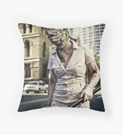 Time For Your Medicine...Again... Throw Pillow