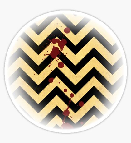Welcome to the Black Lodge Sticker