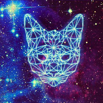 Galactic Kitten by pbarts