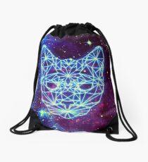 Galactic Kitten Drawstring Bag