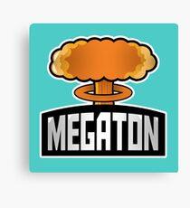 Megaton Explosion Canvas Print