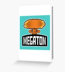 Megaton Explosion Greeting Card