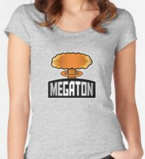 Megaton Explosion Women's Fitted Scoop T-Shirt