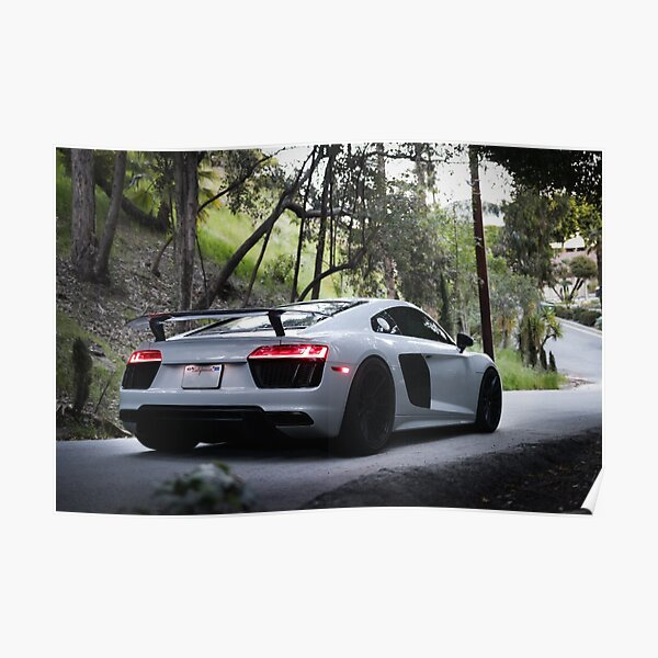 AA706 Photo Picture Poster Print Art A0 to A4 CAR POSTER AUDI R8 WOLVERINE