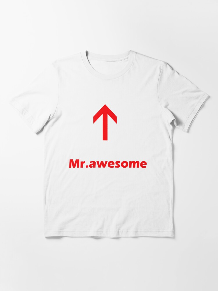 Alternate view of Mr.awesome Essential T-Shirt