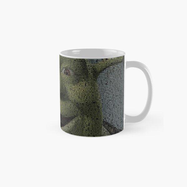 SHREK - Entire Script - With Shrek Face Classic Mug