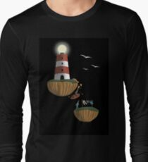 In Accordance with the Ocean Shore Long Sleeve T-Shirt