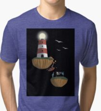 In Accordance with the Ocean Shore Tri-blend T-Shirt
