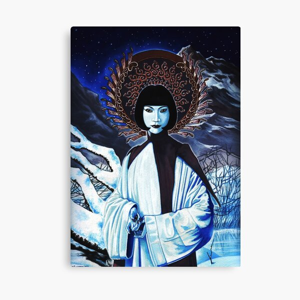 White Tara by Stuart Littlejohn Canvas Print