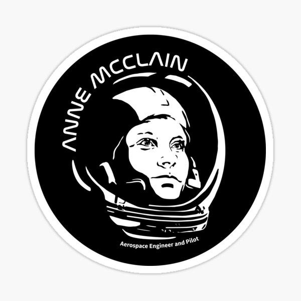 Women in Space: Anne McClain Sticker