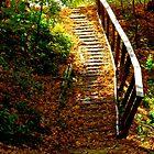 Das Blatt Treppenhaus von MarianBendeth