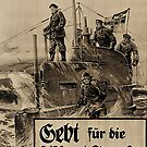 WWI Bond Drive, Give for our U-Boats by edsimoneit