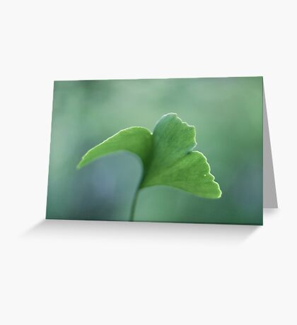 Just green Greeting Card