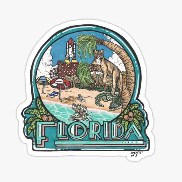 Florida Life Sticker