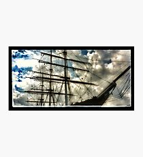 Cutty Sark 'ghosts' Photographic Print