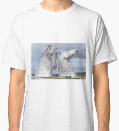 The Kelpies gifts , Helix Park, Scotland Classic T-Shirt