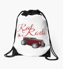 Hot Rod and Rat Rods Vintage  t shirts for Men and women Decor Vest Drawing Drawstring Bag