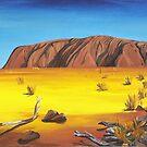 Uluru - N.T. by Kim Donald