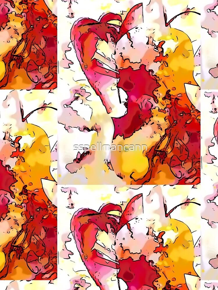Red Violin by sspellmancann