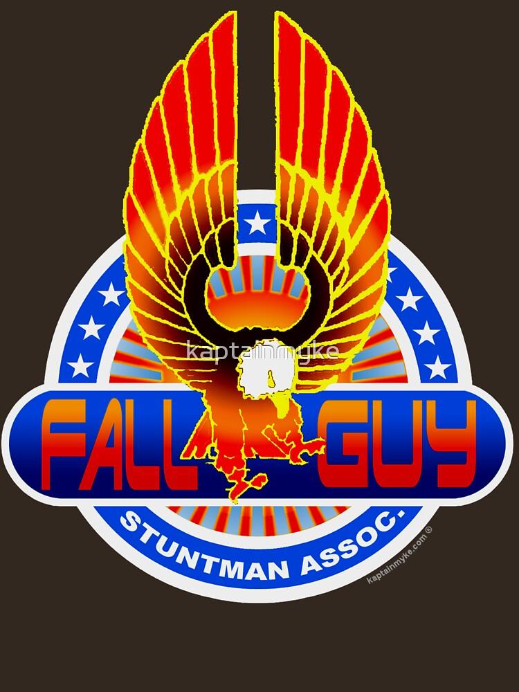 """Fall Guy Stuntman Association"" T-shirt by kaptainmyke ..."