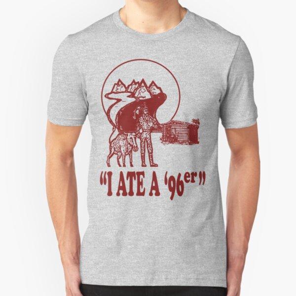 I Ate A 96er Slim Fit T-Shirt