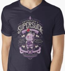 Superslick Men's V-Neck T-Shirt