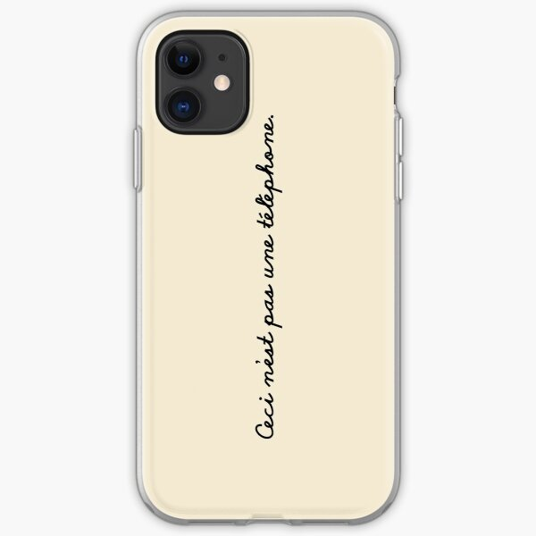 This is not a phone. iPhone Soft Case