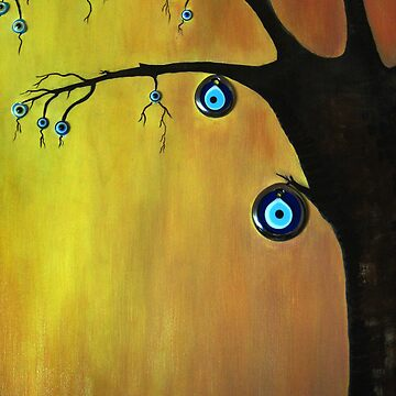 Evil  Eye Beat tree by tulaybasaran