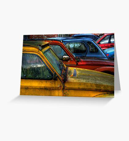 Cars Greeting Card
