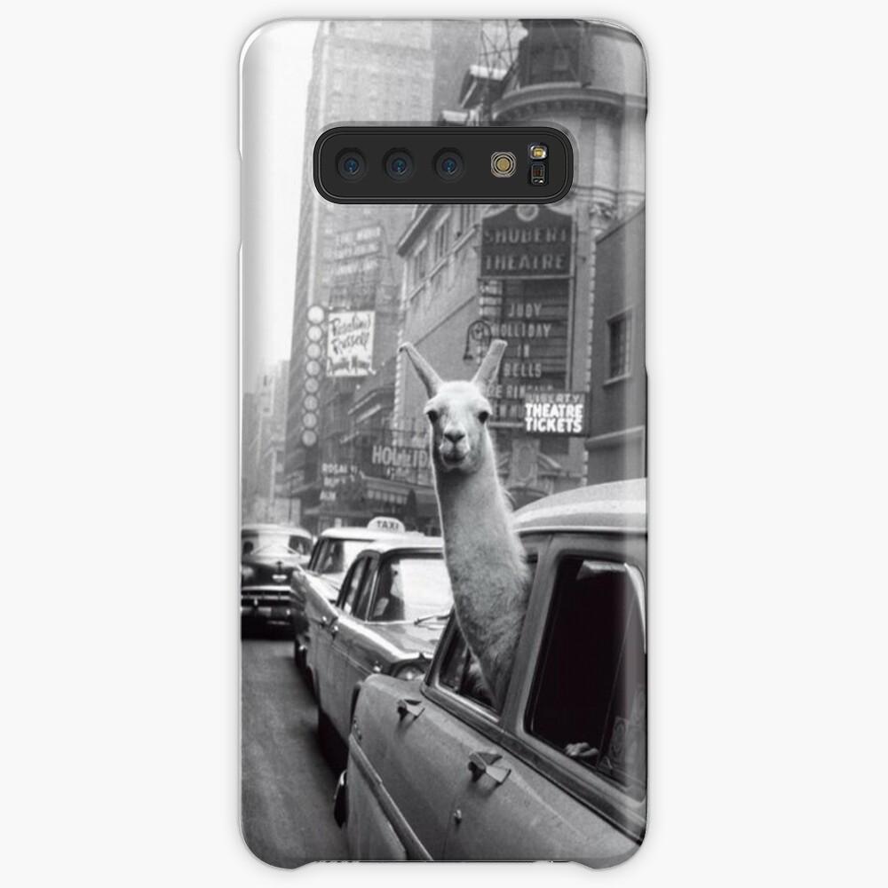 New York Lama Hülle & Klebefolie für Samsung Galaxy
