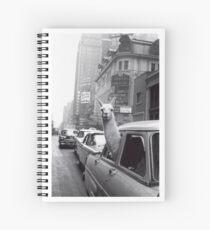 Cuaderno de espiral Nueva York Llama