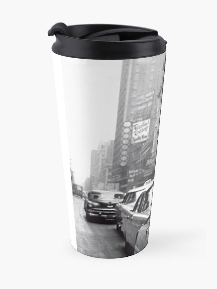 Alternate view of New York Llama Travel Mug