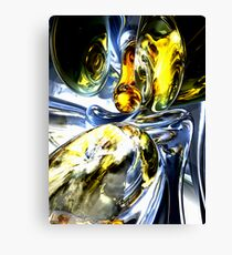 Lost in Space Abstract Canvas Print