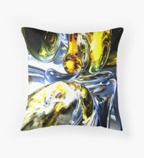 Lost in Space Abstract Throw Pillow
