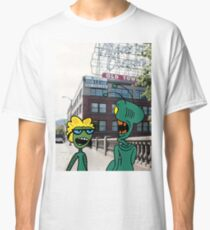 ZEEK from Mars & Nurdy from Venus visit Old Town Portland Classic T-Shirt